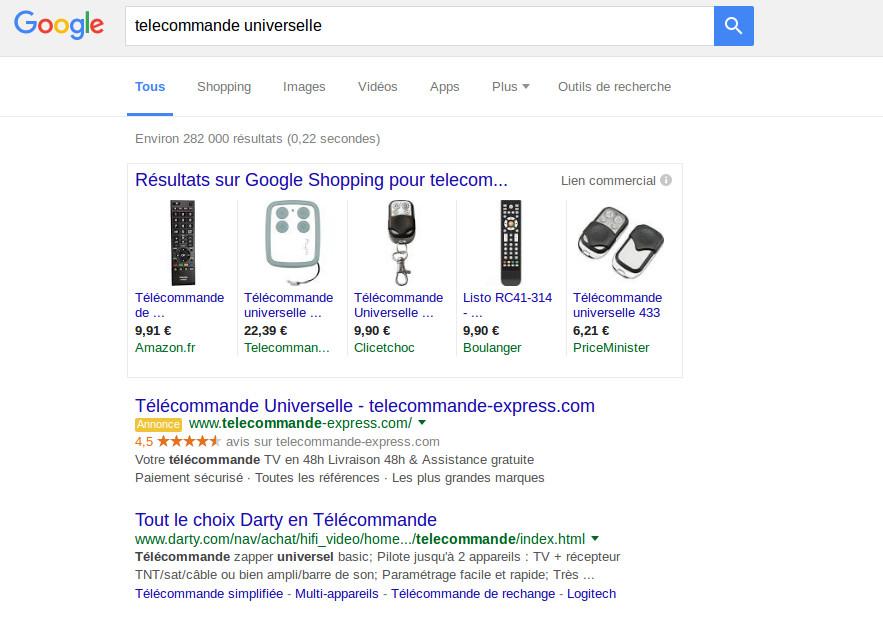 google - niche